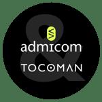 Admicom-Tocoman-yhteislogo